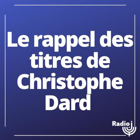 Le rappel des titres de Christophe Dard.