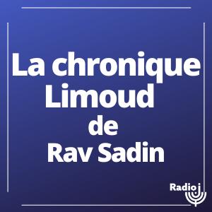 La chronique Limoud du Rav Sadin
